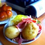ダッチオーブンで初料理!『キャベツとベーコンの蒸し焼き』