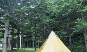 オロウエン大滝キャンプ場 管理人が切り開いた、トイレの綺麗なキャンプ場
