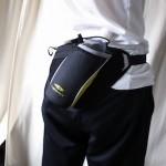 ランニングのとき、iPhoneと小銭とドリンクをどうするか悩んだ結果、ドリンクホルダー付きのウェストバッグが便利だった!