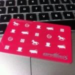 VSPHOENIX S の新ダーツカード、デザインがかわいい!コレならノーチェンジで笑