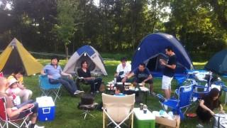 月形皆楽公園キャンプ場で1泊キャンプ。ゴミの持ち帰り不要の便利なキャンプ場