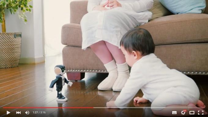 ロボホン08-動画撮影