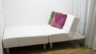 学生さんや社会人の一人暮らし必見!!組み合わせが多彩なセパレート型ソファベッド