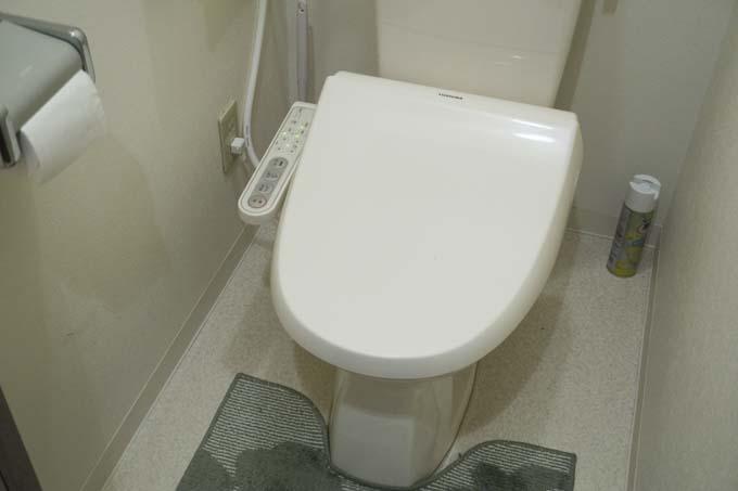 トイレは綺麗に!