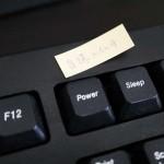 危険すぎるキーボードの自爆ボタン(電源キー)をオフ(無効)にする設定