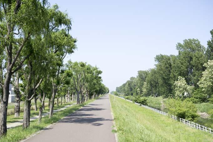 創成川緑地サイクリングロード