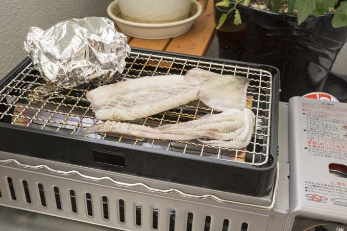 イカの照り焼き
