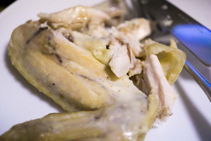 ダッチオーブン料理・蒸鶏