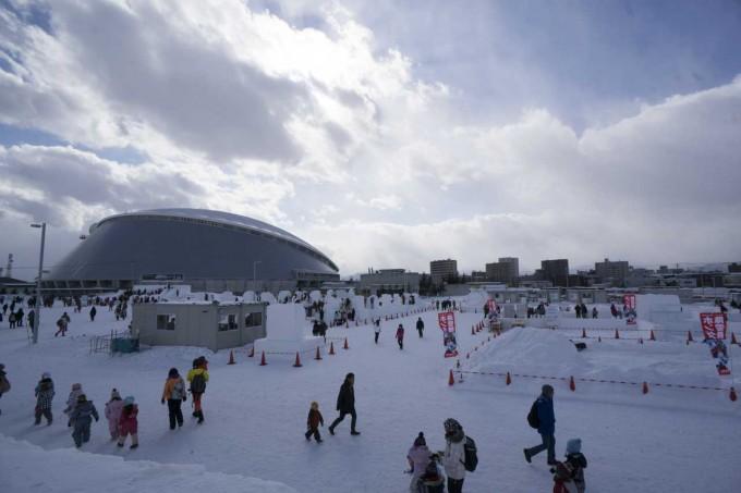さっぽろ雪まつり・つどーむ会場