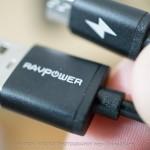 RAVPOWERのUSBケーブル5本セットがリニューアルされてた!リピ購入です