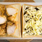 【ホットサンドレシピ】超簡単!極ウマから揚げマヨソースサンド【バウルー】