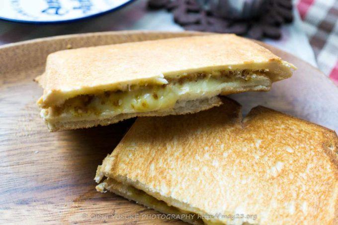 チーズカレーパンホットサンド