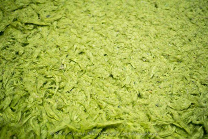 座った場所がへたった絨毯