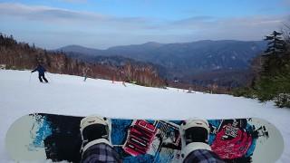 2014年11月29日、札幌国際スキー場で初滑り!まだ雪は少なくて締り雪だけど十分!