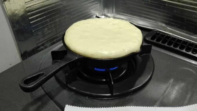 極厚パンケーキの作り方