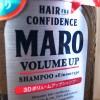頭髪の気になる30代、噂の3DボリュームアップシャンプーMAROを試す!