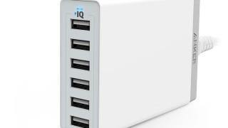 Ankerの人気USB急速充電器に新バージョン、60W 6ポート版が登場!