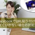 Facebookにリンクを入力しても画像が表示されない時の対処方法と原因・回避方法