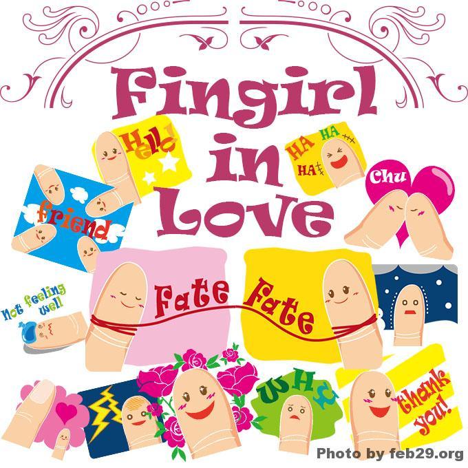 Fingirl in Love