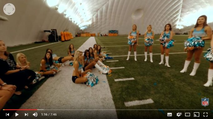 Miami Dolphins Cheerleaders (360 Video)   Ep. 2   NFL Immersed