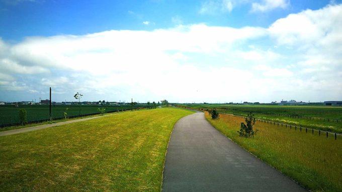 丘珠空港緑地北東地区ランニングコース