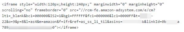 現在のアソシエイトリンクコード